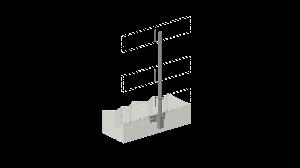 700153-leuninghouder-120-cm