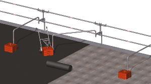 Combisafe Counterweight randbeveiliging voor installatiewerkzaamheden op platte daken