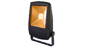 Amber Led-armatuur voor vleermuisvriendelijke verlichting op de bouw