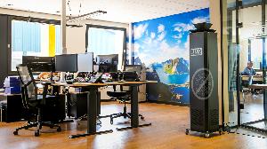RECO Luchtreiniger met ionisator voor een veilige werkplek