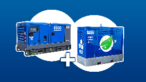 Hybride aggregaat 40 kVA
